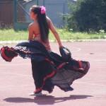 romská tanečnice