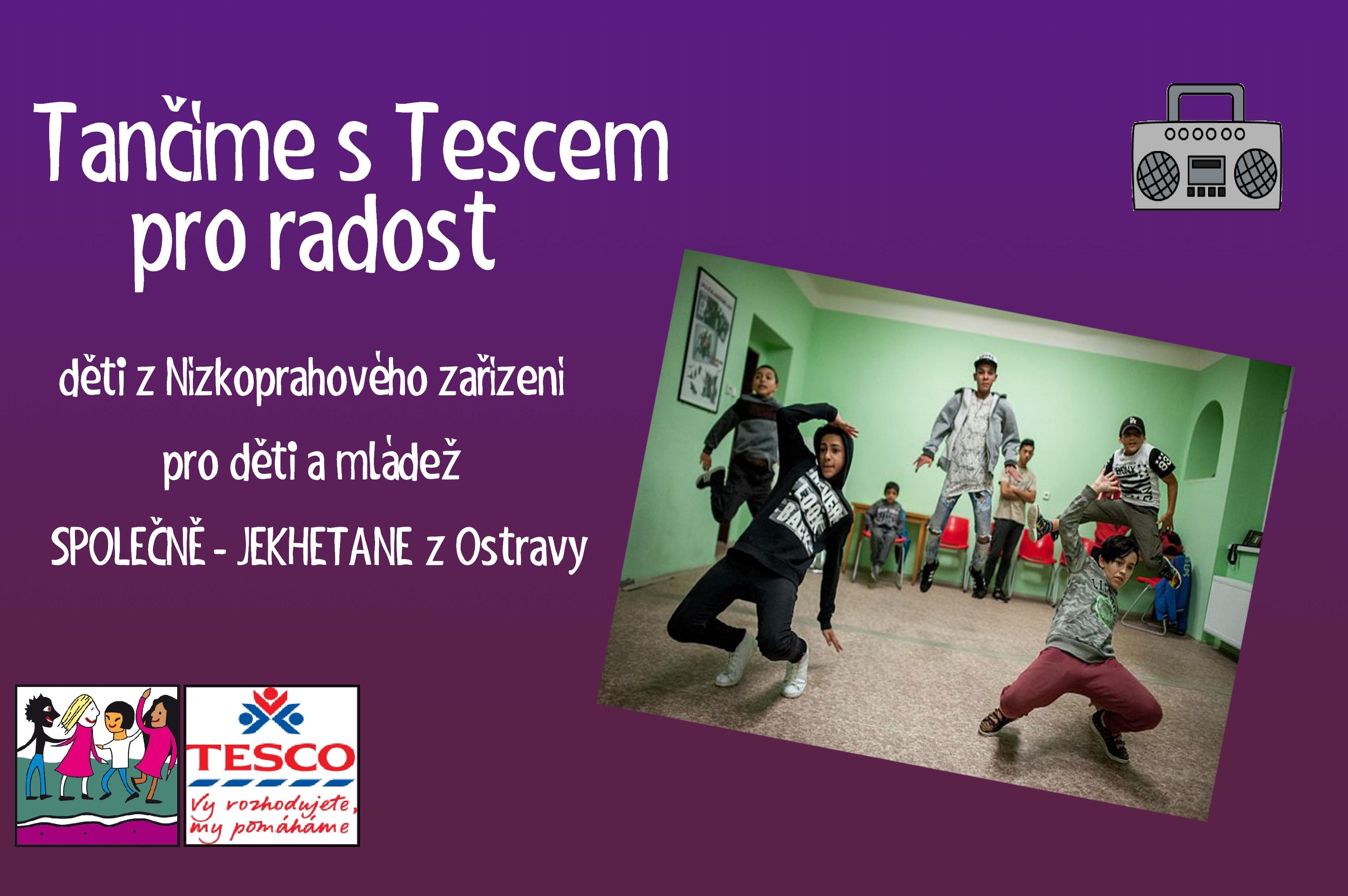 Tančíme s Tescem pro radost