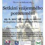 plakát Setkání vzájemného porozumění 2017